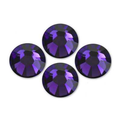 Kamienky na 3D mihalnice - Purple Velvet 1,8 mm, 25 ks