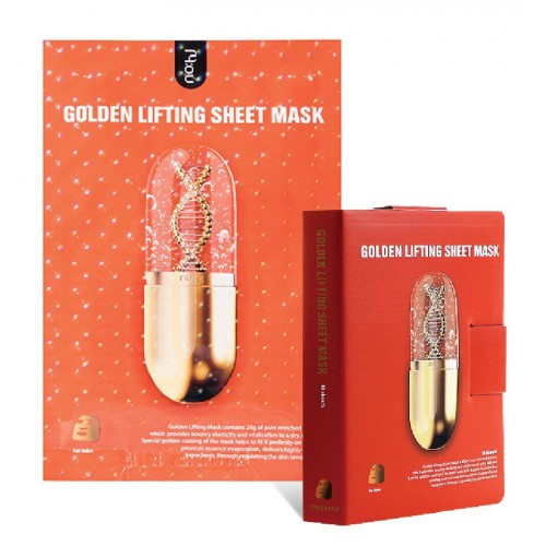 Zlatá liftingová maska - Golden lifting mask
